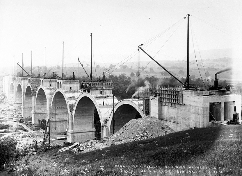 Construction of the Lackawanna Cut-Off