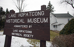 The Lake Hopatcong Historical Museum located at Hopatcong State Park.