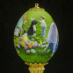 The 2014 commemorative Easter Egg by artist Linda Rossin was recently presented to Mrs. Michelle Obama.