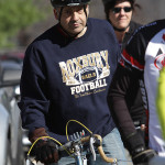 Anthony Scorciolla readies himself for the 20-mile loop in the 2014 Cycle Craft Tour de Lake race, Saturday, April 19.