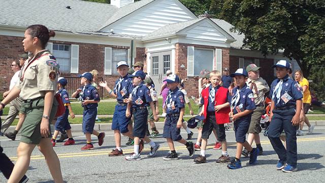 Hopatcong Days began Saturday'a celebration with a parade.