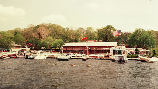 The Windlass Restaurant, circa 1990's. (Photo courtesy Lake Hopatcong Museum archives.)