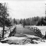 Chincopee Bridge shortly after its opening in 1891.