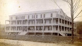 Woodport House hotel, circa 1890.
