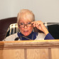 Commissioner Ann Pravs at Monday's Lake Hopatcong Commission meeting.