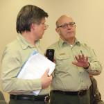 Dan Bello and Steve Ellis, NJ Department of Environmental Protection.