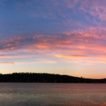 Sunset Panorama, Lake Hopatcong by  Kevin Kinsella.