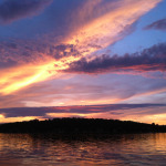 Sunset on Lake Hopatcong, Mt. Arlington by Kevin Kinsella.